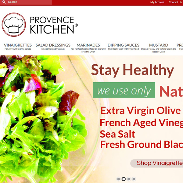 Provence Kitchen®, Natural Salad Dressing and more since 2000