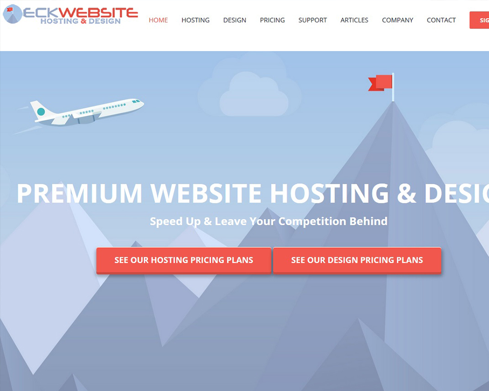 Premium Website Hosting and Website Design