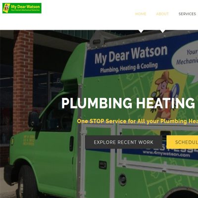 My Dear Watson; Plumbing, Heating and Cooling