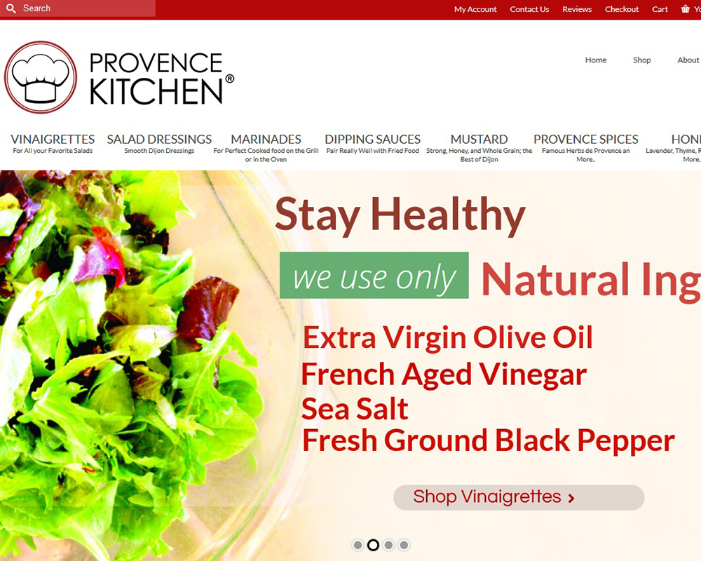Provence Kitchen, Natural Salad Dressing and more since 2000