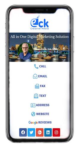 EckCreativeMedia Digital Business Card