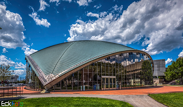 EckFoto Architecture Photography MIT Kresge Auditorium
